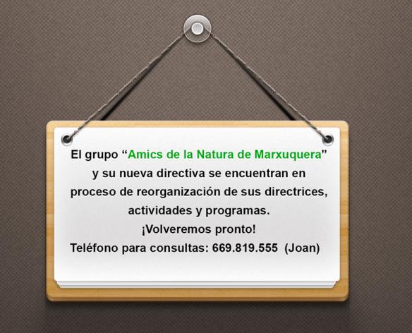 Amics Natura Marxuquera directiva